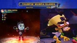 Thumpin' Wumpa Islands Speedrun in 4:08