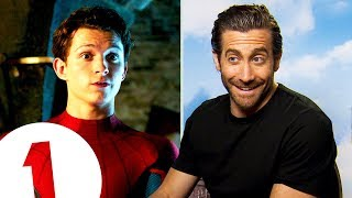 """""""He's a lovely soul!"""" Jake Gyllenhaal on his Tom Holland bromance in Spider-Man: Far From Home."""