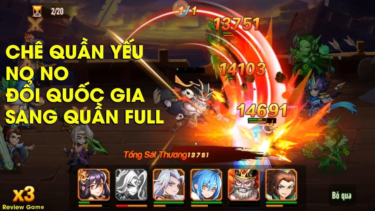 OMG 3Q - Chê Team QUẦN Yếu Hãy Xem Clip Này Nhé, Đổi Sang Team Quần Full  Chi Tiết || Review Game