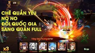 OMG 3Q - Chê Team QUẦN Yếu Hãy Xem Clip Này Nhé, Đổi Sang Team Quần Full Chi Tiết    Review Game