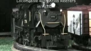 mth premier cnj camelback o gauge steam locomotive