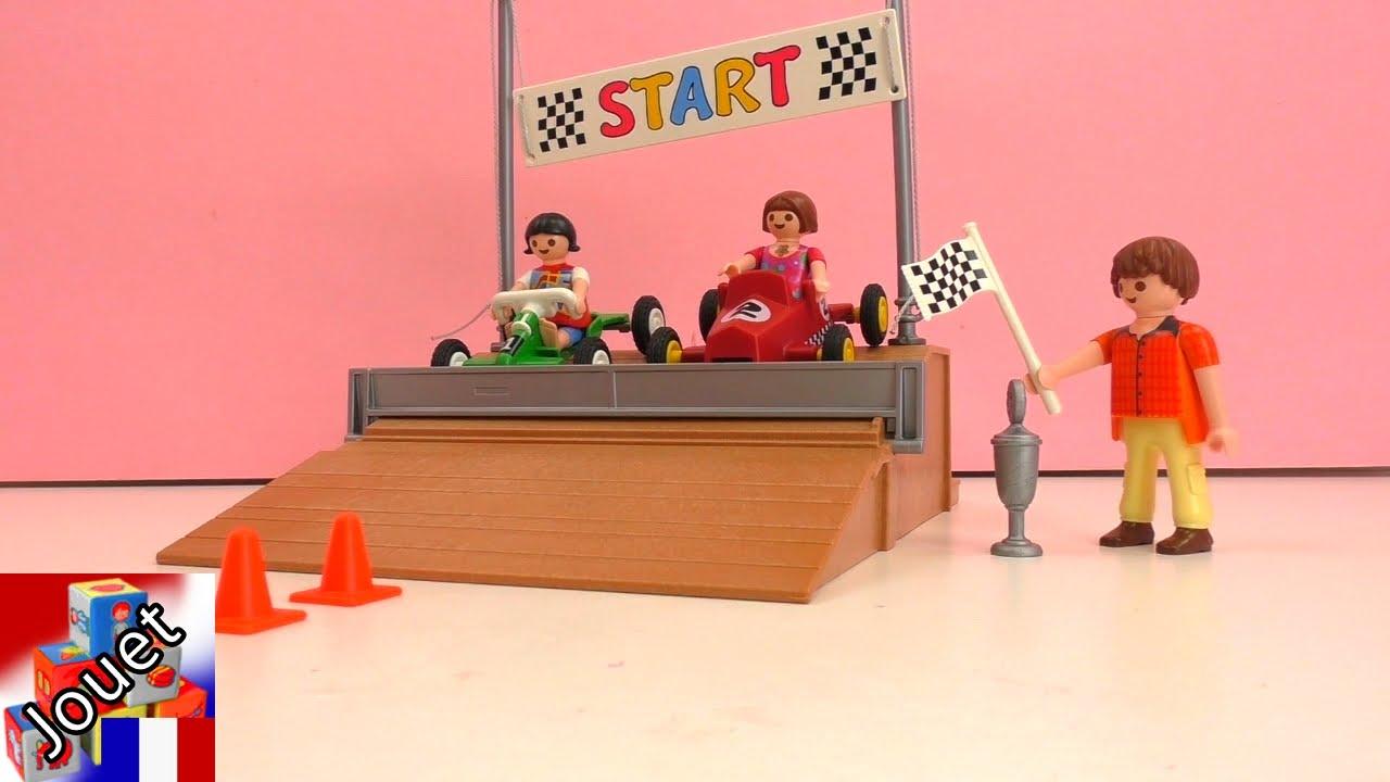 course de voitures playmobil des voitures de course pour les enfants youtube. Black Bedroom Furniture Sets. Home Design Ideas