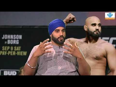 141017 Sikh Channel Sports: Exclusive Interview - Arjan Singh Bhullar