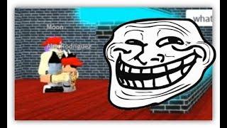 ROBLOX Trolling at Boys and Girls Dance Club