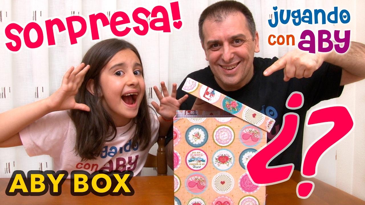 Aby Box Caja De Regalos Sorpresa 01 Youtube