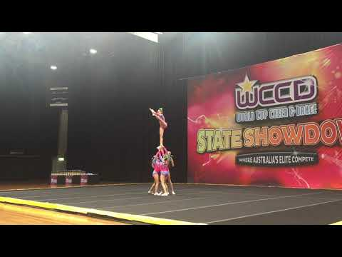 World Class Open Level 5 Group Stunt WCCD State Championships 2015