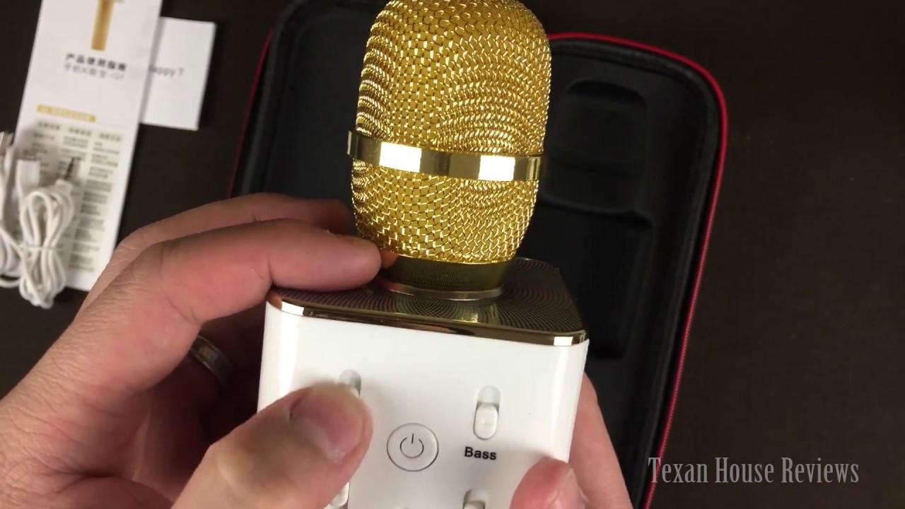 fc13278a84f TopBest Portable Wireless Karaoke Microphone - YouTube