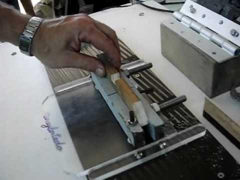 Ingletadora casera con sierra circular accesorio para - Guia para construir ...