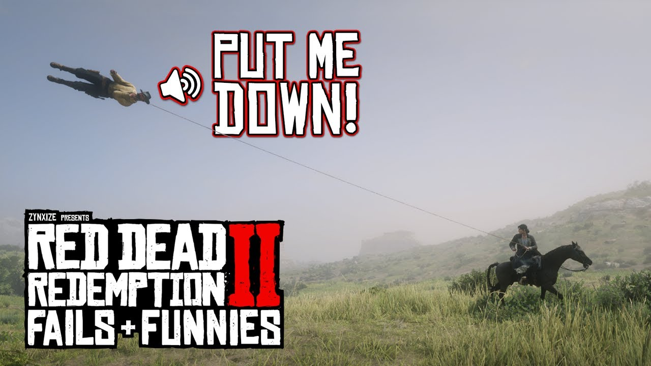 Red Dead Redemption 2 - Fails & Funnies #118 thumbnail