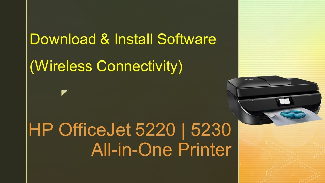 Hp Officejet 5220 5230 5255 Printer Download