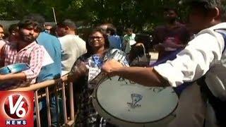 JNU Student Union President Election's Undergoes,  ABVP Wins DUSU Polls   Delhi   V6 News