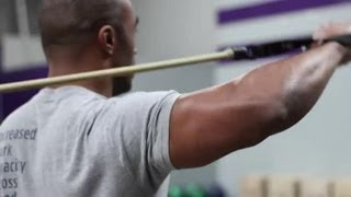 Shoulder Strengthening Exercises for Pitchers : Exercises for Athletes