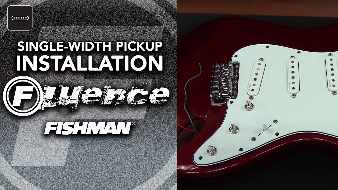 maxresdefault fishman fluence single width pickup installation youtube fishman fluence wiring diagram at soozxer.org