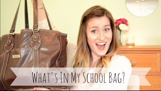 What's In My School Bag? | 2014 Thumbnail