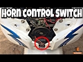 How To install Dual Horn controls switch in activa