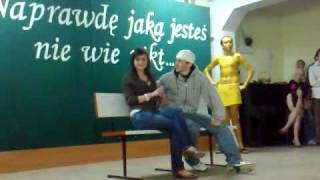Szkolny skecz,kabaret cz 1