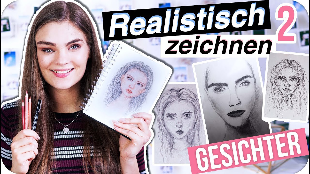 Gesichter Realistisch Zeichnen Portrait Tutorial Tipps Für Anfänger Teil 2 Imjette
