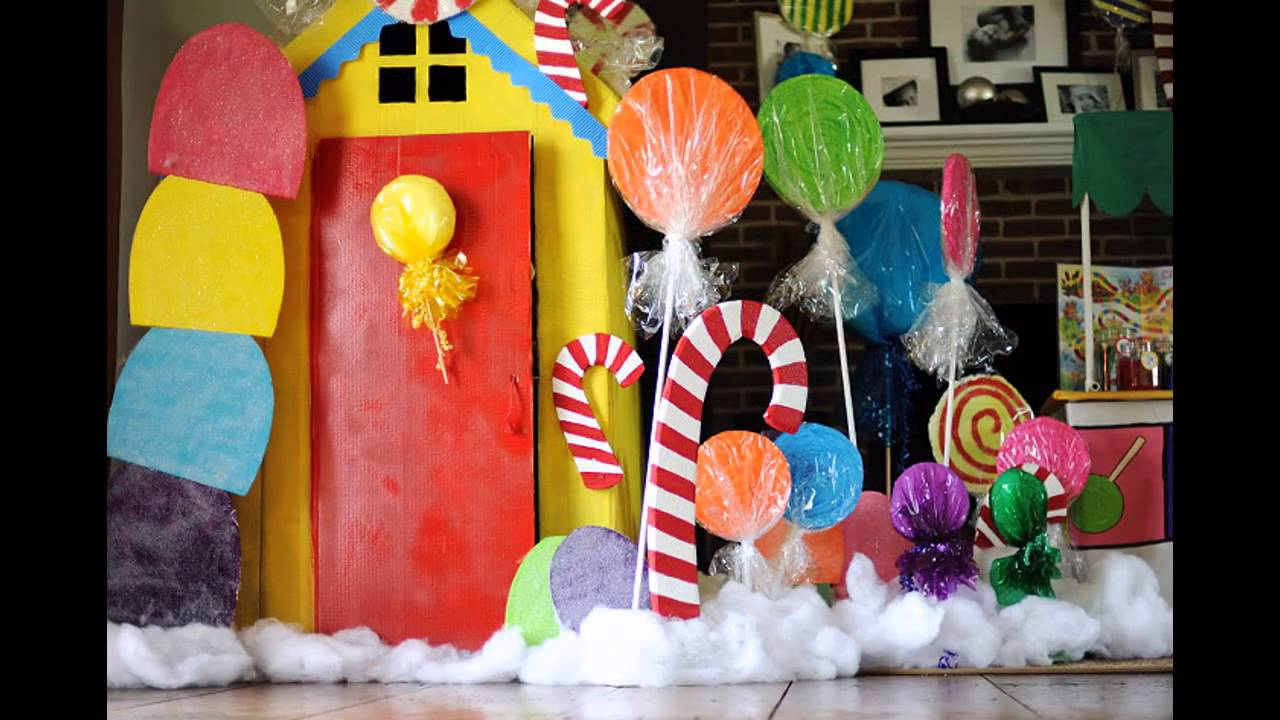 Cute Candyland Party Decorations Ideas   YouTube
