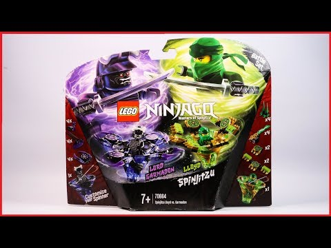 LEGO Ninjago 70664 Spinjitzu Lloyd Vs. Garmadon Speed Build