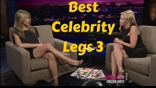 Celebrity Legs on Late Night Talk TV