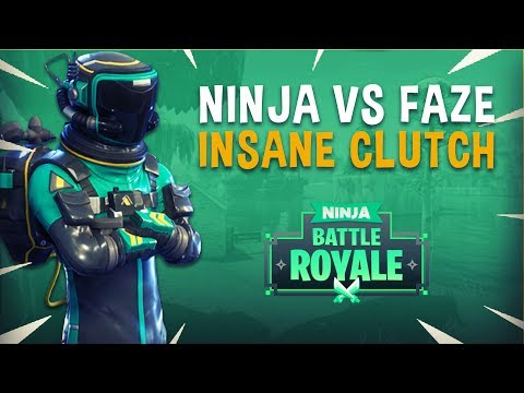 Ninja vs Faze Game 2 Insane Clutch! - Fortnite Tournament Ga