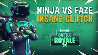 Ninja vs FaZe Game 2 Insane Clutch! - Fortnite Tournament Gameplay thumbnail