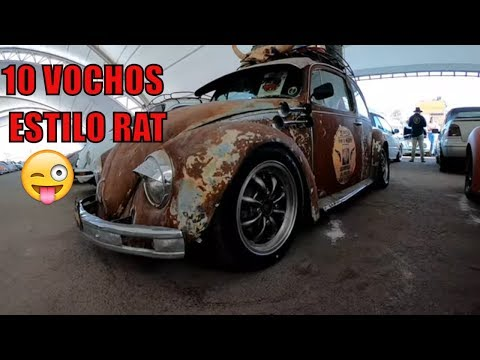 10 VW ESTILO RAT 🌈🌈 AUTOS CON ESTILO PROPIO RATROD
