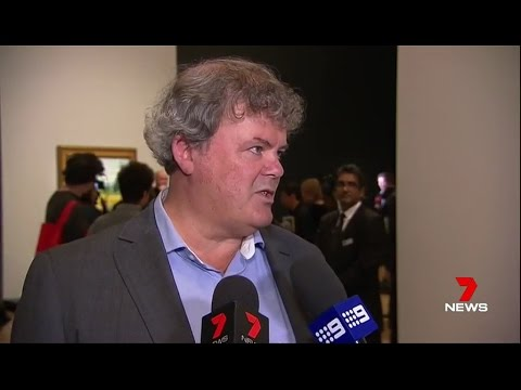 7 NEWS TV Channel , Vincent van Gogh exhibition opens in Mel