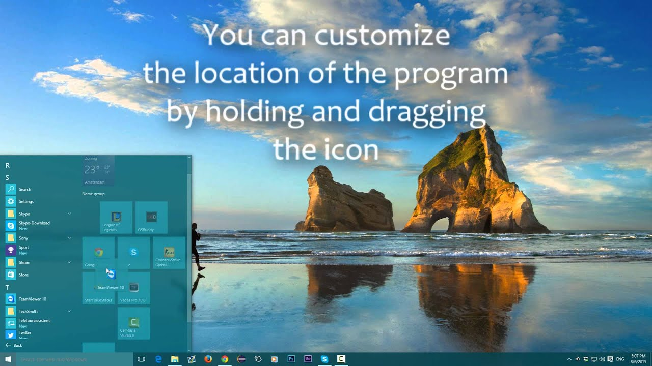 how to see what programs start with windows 10