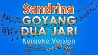 Gambar cover Sandrina - Goyang Dua Jari KOPLO (Karaoke) | GMusic