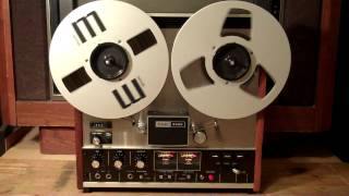 BLACK SABBATH-The Wizard. Played on a 1972 TEAC 3300 Reel to Reel.-Zcuckoo