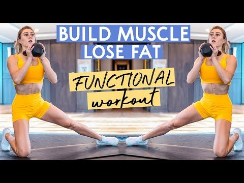 FUNCTIONAL LOWER BODY WORKOUT TO LOSE FAT + BUILD MUSCLE + GET ATHLETIC!!