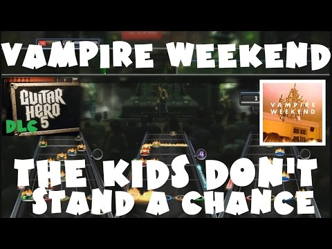 Vampire Weekend - The Kids Don't Stand a Chance - Guitar Hero 5 DLC Expert FB (January 14th, 2010)