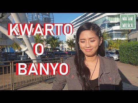 KWARTO O BANYO (Naughty Question No. 10)
