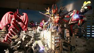 ウルトラマンフェスティバルが22日、大阪府枚方市のテーマパーク「ひ...