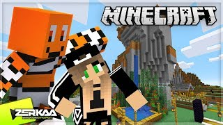Teaching My GIRLFRIEND How To Play Minecraft! (Minecraft #32 LIVE 🔴)