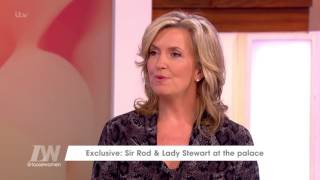 Penny Lancaster On Rod's Knighthood | Loose Women