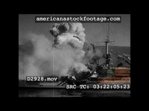1940 The Battle Of Oran   French Fleet Bombared D2928