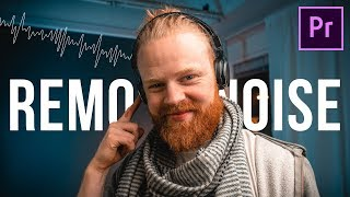 How to Remove Background Noise - Adobe Premiere Pro 2020 Tutorial
