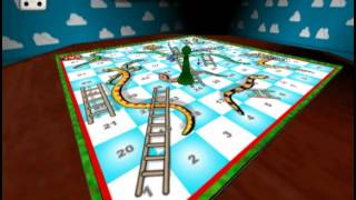 Board Games Gallery (PLAYSTATION 2) Snakes and Ladders