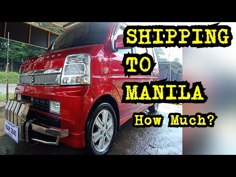 SHIPPING TO MANILA How Much?