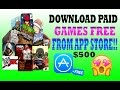 Download All Paid Games & Apps from App Store for FREE!! No Jailbreak iPhone,iPad (Premium Apple ID)