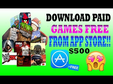 Download All Paid Games Apps From App Store For Free