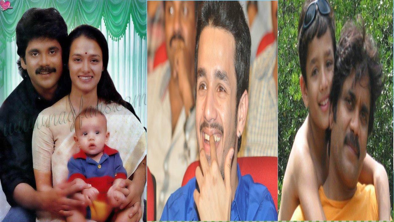 Akkineni Akhil Childhood Photos