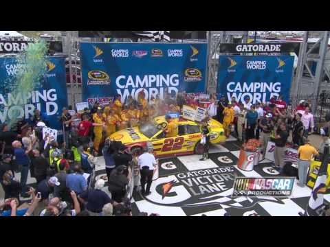 Joey Logano Wins Talladega Superspeedway and Sweeps the Contender Round!