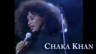 Chaka Khan - Any Old Sunday & Tell Me Something Good (Live)