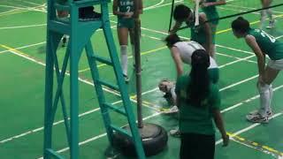 DLSU Lady Spiker Desiree Cheng Injured