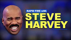Rapid Fire With Steve Harvey | Fortnite, Payday, Rap Concerts, and My First Memorable Job