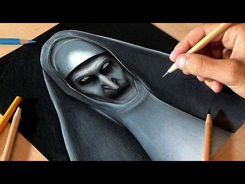 Drawing Valak - The Nun
