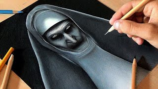 Drawing Valak - The Nun